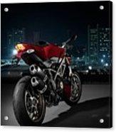 Ducati By Moonlight Acrylic Print