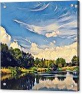 Reflections At Duck Creek Acrylic Print