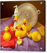 Duck Soap Acrylic Print