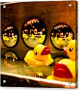 Ducky Reflections Acrylic Print