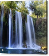 Duden Waterfall - Turkey Acrylic Print