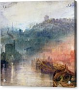 Dudley Acrylic Print by Joseph Mallord William Turner