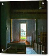 Dudley's Chapel Window - Painting Effect Acrylic Print