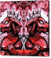 Duel Ganesh Acrylic Print