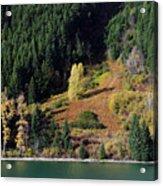 Duffey Lake Colors Acrylic Print