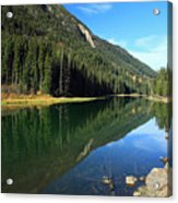 Duffey Lake Reflection Acrylic Print