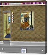 Dugger's Barber Shop Acrylic Print