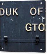 Duk Of Gton Acrylic Print