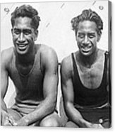 Duke And Sam Kahanamoku Acrylic Print