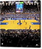 Duke Blue Devils Cameron Indoor Stadium Acrylic Print by Replay Photos