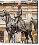 Duke Of Wellington Statue Acrylic Print