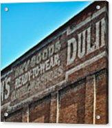 Dulin's Dry Goods Acrylic Print