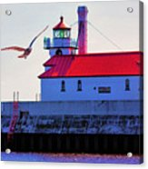 Duluth Lighthouse Acrylic Print