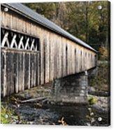 Dummerston Covered Bridge Acrylic Print