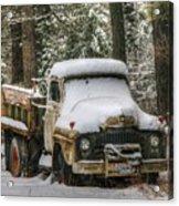 Dump Truck Acrylic Print