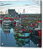 Dun Laoghaire 15 Acrylic Print