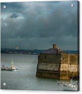 Dun Laoghaire Harbor Lighthouse Acrylic Print