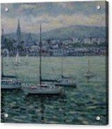 Dun Laoghaire Harbour Dublin Acrylic Print