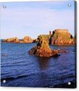 Dunbar Coast Acrylic Print