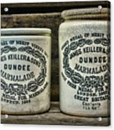 Dundee Marmalade Country Kitchen  Acrylic Print