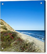 Dune Cliffs And Beach Acrylic Print