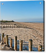 Dune Conservation Holme Dunes North Norfolk Uk Acrylic Print