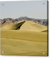 Dunes And Mountains Four Wider Acrylic Print