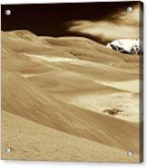Dunes And Peak Acrylic Print