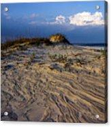 Dunes At St. Simons Island Acrylic Print