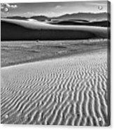 Dunes Details Acrylic Print