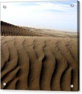 Dunes Of Alaska Acrylic Print