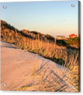 Dunes Of Fire Island Acrylic Print