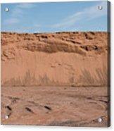 Dunes Of Sand Acrylic Print