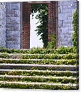 Dungeness Front Steps  Acrylic Print