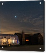 Dungeness House And Airstream Acrylic Print