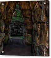 Dungeon Walls Acrylic Print