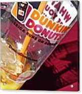 Dunkin Ice Coffee 29 Acrylic Print