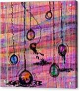 Dunking Ornaments Acrylic Print