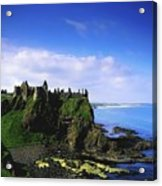 Dunluce Castle, Co Antrim, Irish, 13th Acrylic Print