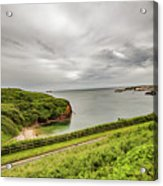 Dunmore East Cliffs Acrylic Print