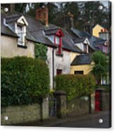 Dunmore Houses Acrylic Print