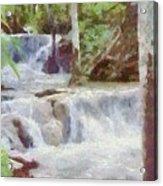 Dunn River Falls Acrylic Print