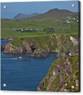 Dunquin Bay And Coast Acrylic Print