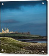 Dunstanburgh Castle In Northumberland Acrylic Print