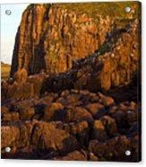 Duntulm Castle Isle Of Skye Acrylic Print
