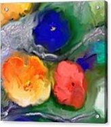 Duo De Fleurs 2 Acrylic Print