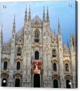 Duomo - Milan -italy Acrylic Print