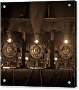 Durango Roundhouse Acrylic Print