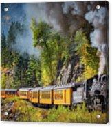 Durango-silverton Narrow Gauge Railroad Acrylic Print