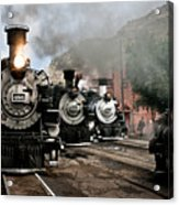 Durango - Silverton Railroad Acrylic Print